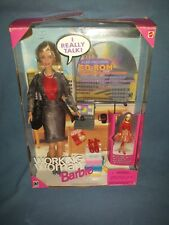 Working Woman Barbie Doll (Never Played With) In Original Box with Accessories