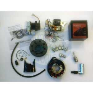 VAPE 3 MGV Zündung Gel Akku Lichtmaschine 12V Simson S50 S51 S53 S70 Set Lampen