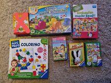 Spielesammlung verschiedene Spiele für Kleinkinder - Tempo kleine Schnecke u.v.m