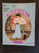 Golden Paper Dolls Disney The Little Mermaid Arial new and uncut #1674 Baa