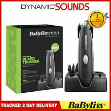 BaByliss For Men Precision Beard Trimmer Clipper Cutter Grooming Set Kit 7107U