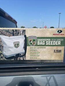 Mossy Oak GameKeeper 25 lb Capacity Bag Broadcast Seeder #6324~NIB