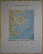 1892 Perron map OUTER BANKS OF NORTH CAROLINA (#25)