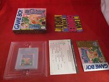 Bonk's Adventure (Nintendo Game Boy, 1992) COMPLETE w/ Box manual game WORKS!