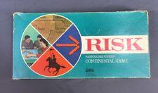 Vintage Risk Continental Board Game 1968 Parker Brothers Complete