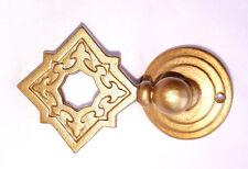 Satén Oro Celta Gótico cuadrado de metal pesado deber Cortina Tiebacks sostener espalda x2