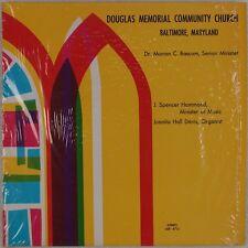 DOUGLAS MEMORIAL COMMUNITY CHURCH: Baltimore, Private Black Gospel LP