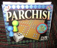 PARCHISI PC CD-ROM GAME BY E GAMES, TWIST ON A CLASSIC BOARD GAME, 20 BOARD DES.