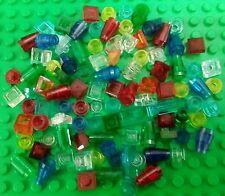 *NEW* Lego Small Plates Tiny Bricks Cones Barrells Slopes Caps Bulk - 100 pieces