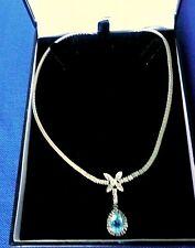 Vintage Spanish Synthetic Zircon / Cubic Zirconium necklace. VGC