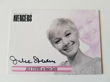 Unstoppable Cards The Women of the Avengers Julie Stevens Autograph Card