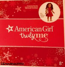 American Girl Tis the Season Party Dress Outfit NIB Red Holiday Christmas