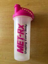 PINK MET-RX PROTEIN CREATINE SHAKER MIXER BOTTLE 700ml Brand New