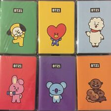 BTS X Line Friends Bt21 Official Merch Pocket Note Book