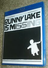 BUNNY LAKE IS MISSING TWILIGHT TIME LIMITED EDITION BLU-RAY, NEW AND SEALED