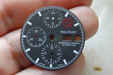 Orfina Porsche design 3H dial new German military chronograph lemiania 5100