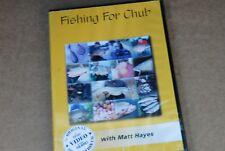 MATT HAYES DVD,  FISHING FOR  CHUB   FISHING DVD