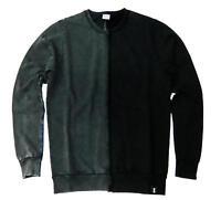 Felpa EVERLAST uomo  maglia vintage nero grigio moda autunno inverno 2018