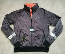 Nike Sphere Running Track Jacket Turf Grey/Orange BNWT Size Medium RRP £120 Sale