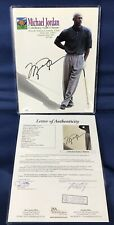1997 MICHAEL JORDAN Signed Celebrity Golf Classic Program NBA Chicago Bulls JSA