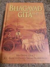 Bhagavad-Gita As It Is by A.C. Bhaktivedanta Swami Prabhupada (2011, Hardcover)