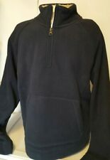 NEW Copper & Oak Supply Men's 1/4 Zip Sherpa Pullover Size Medium $65 Retail