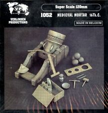 Verlinden Productions 120mm 1:16 Medieval Mortar 16th.C - Resin Diorama #1052