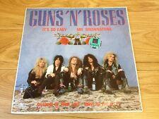 """Guns N Roses Rare Import Vinyl 12"""" It's So Easy EP Heavy Metal GnR Appetite"""