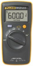 NEW Fluke 101 Handheld & Easily Carried Digital Multimeter CAT III 600V, 6000c