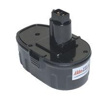 Batterie pour DEWALT de9098, de9095, de9096, de9503, DC, DW 18v 3000mah NiMH