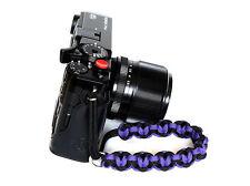 Purple Heart Paracord Wrist Strap for Fuji X-pro1 X-E2 X-M1 XT2 XPro1 NEX XT10