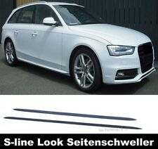 Für Audi A4 8K Avant Seitenschweller Leisten Seitenleisten S-Line Schweller #200