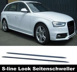 Für Audi A6 4F 4G A7 Seitenschweller Leisten Seitenleisten S-Line Schweller