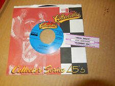 LOUIS ARMSTRONG Hello, Dolly! / Blueberry Hill COLLECTABLES JUKEBOX STRIP 45