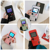 Color Display Game Boy Phone Case Built-in 36 Retro Video Games Cover for iPhone