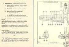 Slingsby Hengist I glider WW2 1940's British troop Waco historic archive manual