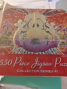 Snoopy by Everhart Jigsaw Puzzle 550 Pc Collector's Puzzle Nobody Barks in L A