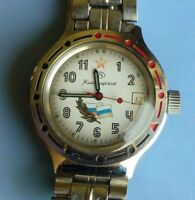 Wrist Watch Vostok Komandirskie USSR  AUTOMATIC Mechanical Men's Serviced