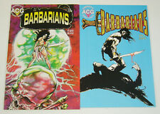 Barbarians #1-2 VF/NM complete series - america's comic group ACG reprints set