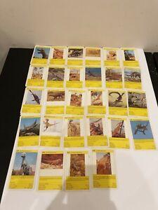Vintage Top Trumps Card Game Dinosaurs x28 Vintage 1980s