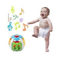 Newborn Baby Infant Hand Sensory Rattle Bell Intelligence Bee Ball Toy New LH