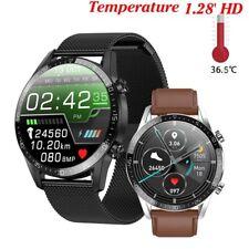 T03 спортивные умные часы мужские ЭКГ температуры тела кислорода крови монитор пульса