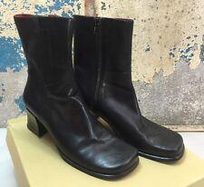 Enzo Angiolini Eapavana Black Zip Up Dress Boots 6546386 / V6