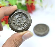 Collections Of Indian Art Vintage Old Iron Seer Set of 2 Weight Scale.G15-209 US