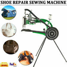 Shoe Repair Sewing Machine Hand Cobbler Dual Leather Cloth Cotton Nylon Thread