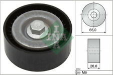 Aux Belt Idler Pulley fits VAUXHALL INSIGNIA A 2.0D 08 to 17 Guide Deflection