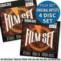 Classic Cuts Film Set Movie Theme and Songs 90 Tracks 4 CD's Original Recordings