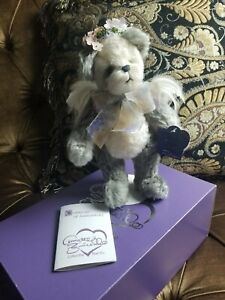 "ANNETTE FUNICELLO *NEW* 12"" FELICITY ANGEL TEDDY MOHAIR BEAR LE & RETIRED #139"
