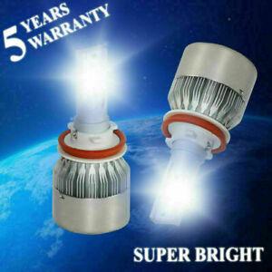 C6 LED Headlight Kit H8 H9 H11 3000W 450000LM Headlights High Low Beam Fog Bulbs