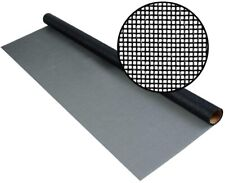 PHIFER 84 in. x 25 ft. Fiberglass Insect Screen Fabric Precision woven, Charcoal